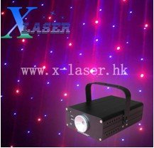 Mini club disco red voilet color laser light show