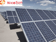 solar panels for big projects and power plant