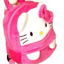 NEW Hello Kitty Lovely Baby Kids soft Plush Backpack School Bag