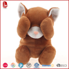 2016 good sale three color customize plush toy cat with eyes covered China
