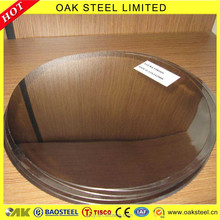 Hot Sale 410 Cold Rolled Stainless Steel Circle