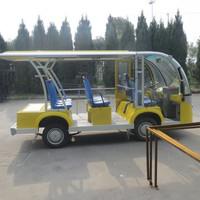2015 yellow customized Electric tourist Bus