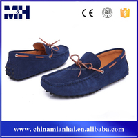 High grade stylish new style soft sole driving boat shoes men