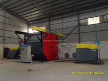 shuttle rotational moulding machine
