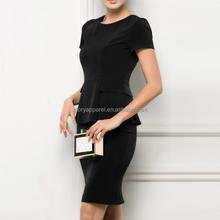 2015 Hot woman clothing career professional dresses