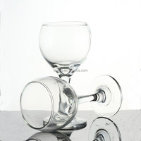 Personalized Drinking wine Glasses Set of 4 clear manufacturing in stocks hotel wedding decor