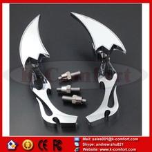 KCM350 For Kawasaki Ninja All year model CHROME Alloy Arrow Motorcycle Custom Mirror