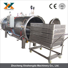 1000L Water Immersion Autoclave Sterilization machine for Sauce/Jam