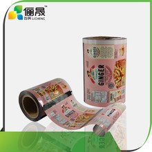 2015 high quality plastic film roll/roll film