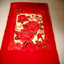 Top selling branded Christmas cotton blanket