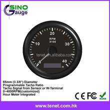 tachometer gauge RPM digital, tachometer motorcycle digital RPM meter