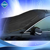 quality popular anti water black taffeta 190 car window cover with good price