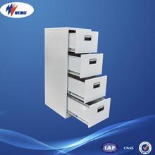 Colorful Metal File Cabinet 4 Drawer Divider