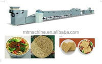 small scale fried instant noodle making machine/automatic instan tnoodle making machine