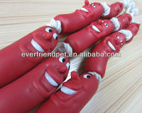 PVC advertising custom inflatable sausage plastic sausage toy