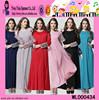 Fress Size Muslim Long Sleeve Maxi Dress O Neck Muslim Long Sleeve Maxi Dress