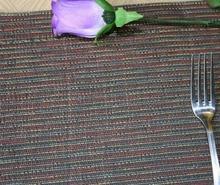 Coloring dark stripe placemat