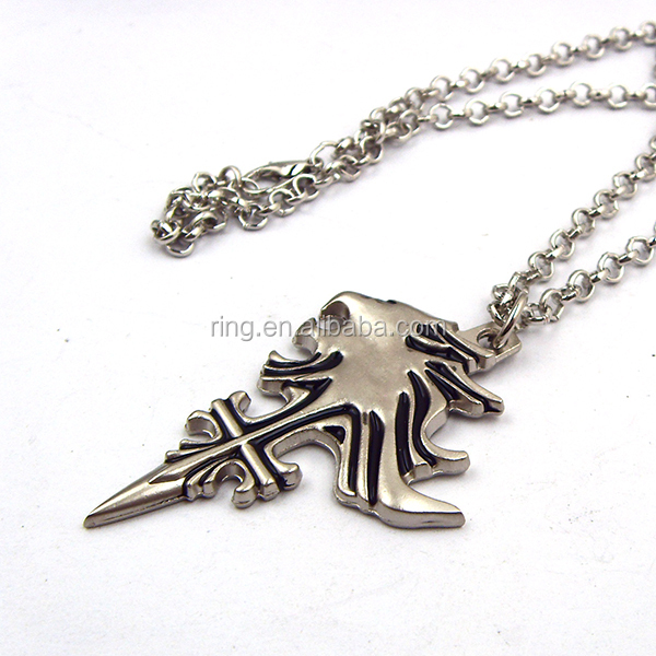 Final fantasy sleeping lion heart necklace squall leonhart fashion jpg sdc10737 aloadofball Images