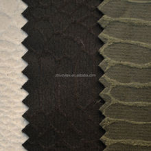 snake patten bronzing suede textile for sofa
