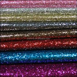 2016 Fashion Mirror PU Leather Glitter Fabric for Bags/Handbag material