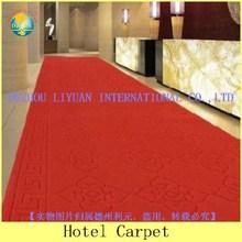 2015 NEW Popular Nonwoven Red Plain Exhibition Carpet- DZLY
