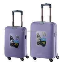 Portable trolley luggage butterfly luggage elastic band