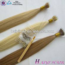 2015 Wholesale Cheap Vrigin Remy Human Nano Ring Hair Extension