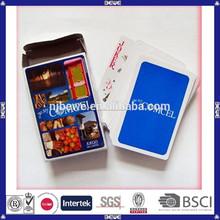 la costumbre de impresión especial personalizada de tarjetas de poker