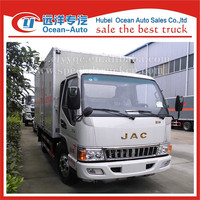 Brand JAC 4x2 emulsion explosive proof truck with top design