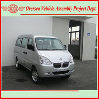 Euro IV Standard 8 Seats Gasoline Engine A/C Chana Mini Van