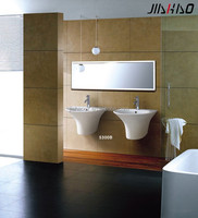 Hot Sale Ceramic Wall - hung Basin , Bathroom Sink 5300C