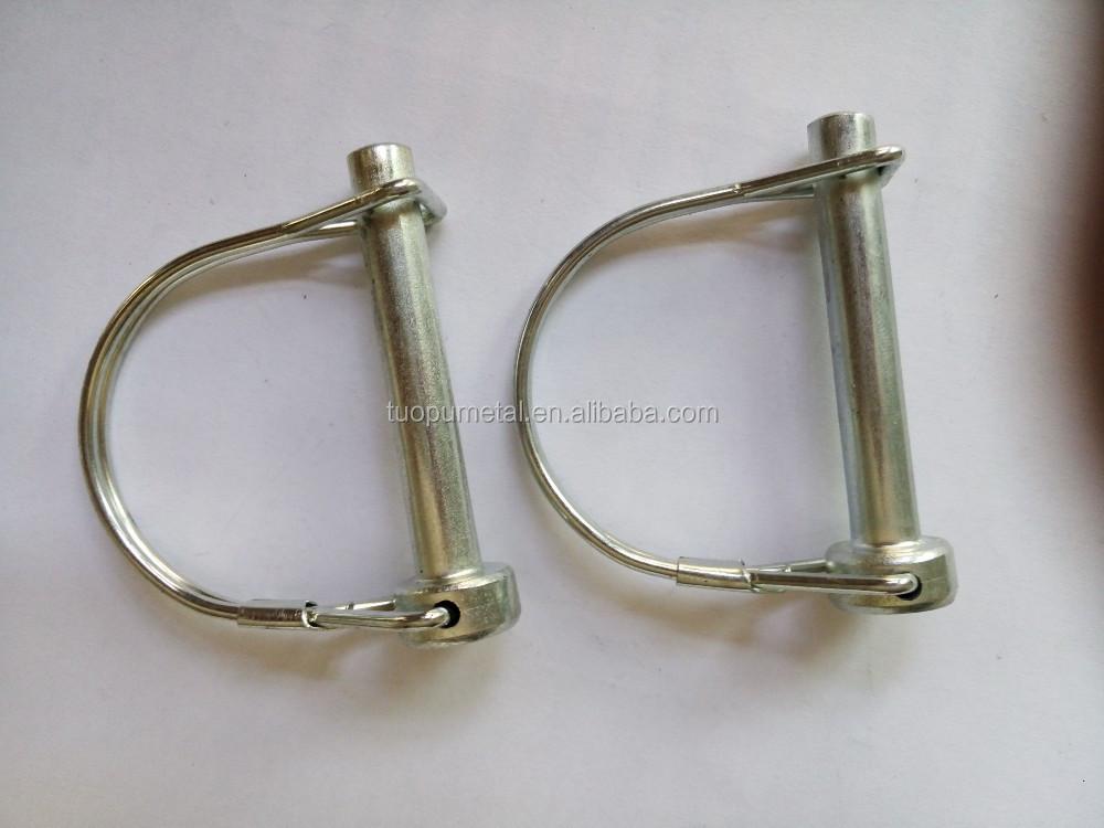 Metal snap lock pin snap wire lock pins round types locking pins ...