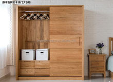 New style export wooden toy wardrobe