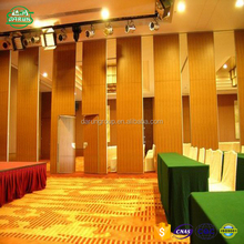 Collapsible Sliding Partition Wall for Banquet Hall