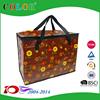 pp woven cooler bag Sell Top Cheap Reusable Folding Shopping Bag Customized