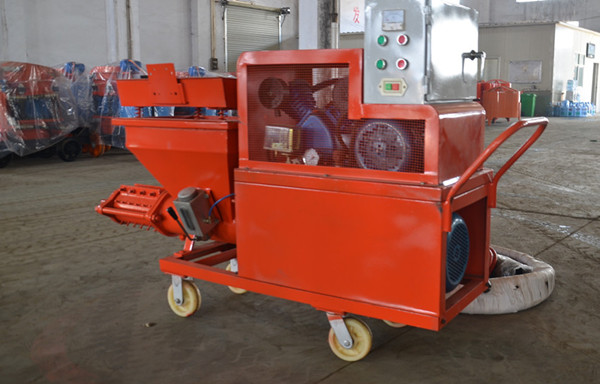 BV Verified Factory Wet Mix Mortar Spraying Machine/Wall Plastering Machine