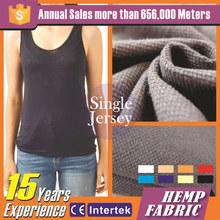 Alta calidad de moda de cáñamo tela orgánica ee.uu. vintage ropa de marca