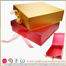 Custom paper packaging box different types gift packaging box