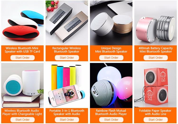 Cadeau de no l portable karaok mini haut parleur pour la for Haut parleur exterieur