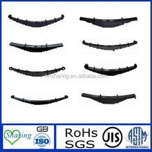 Different types of trailer leaf springs popular in Germany and Amercia