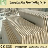polished G682 cut to size tiger skin yellow granite tile,countertop prefeb slab