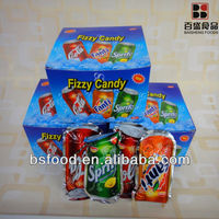 Three tastes Fizzy candy /press candy bs-3301