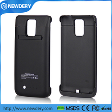 Newdery leather uv/rubber oil cover battery case for samsung note4