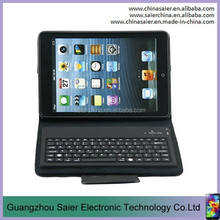 smart pu removable case for ipad case with keyboard