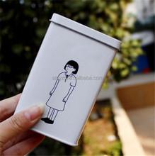 fashion feature mini gift toys box in tin sign