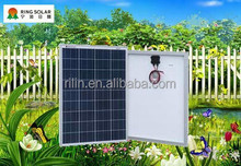 High quality low price small solar panel Chinese Ningbo flexible18V 75W poly solar panel