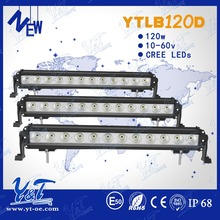 120w explorer working lights led light bar Autos parts 4x4 Offroad led head light IP68