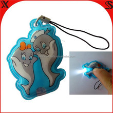 Promotional gifts flat pvc custom motorcycle keychain