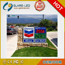 Car wash signs and gas station price signs for sale