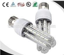 low price 3U led energy saving light bulb,E14/E27/B22 led corn light 3U ,smd 2835 led bulb lamp corn